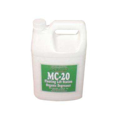 1 Gal. Jug Organic Lift Station/Septic Tank Degreaser with Available Cherry Scent (at 50% Concentrate)