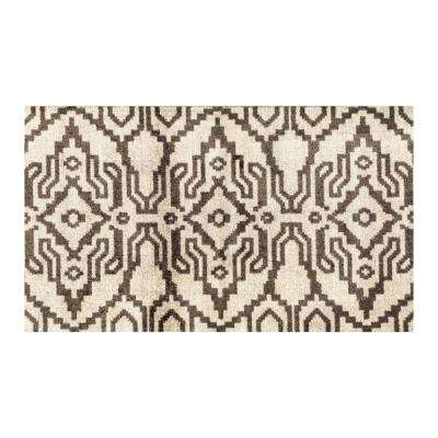 In-Home Washable/Non-Slip Ikat 2 ft. 3 in. x 3 ft. 11 in. Area Rug & Mat