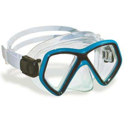 Monaco Assorted Colors Youth/Adult Recreational Swim Mask