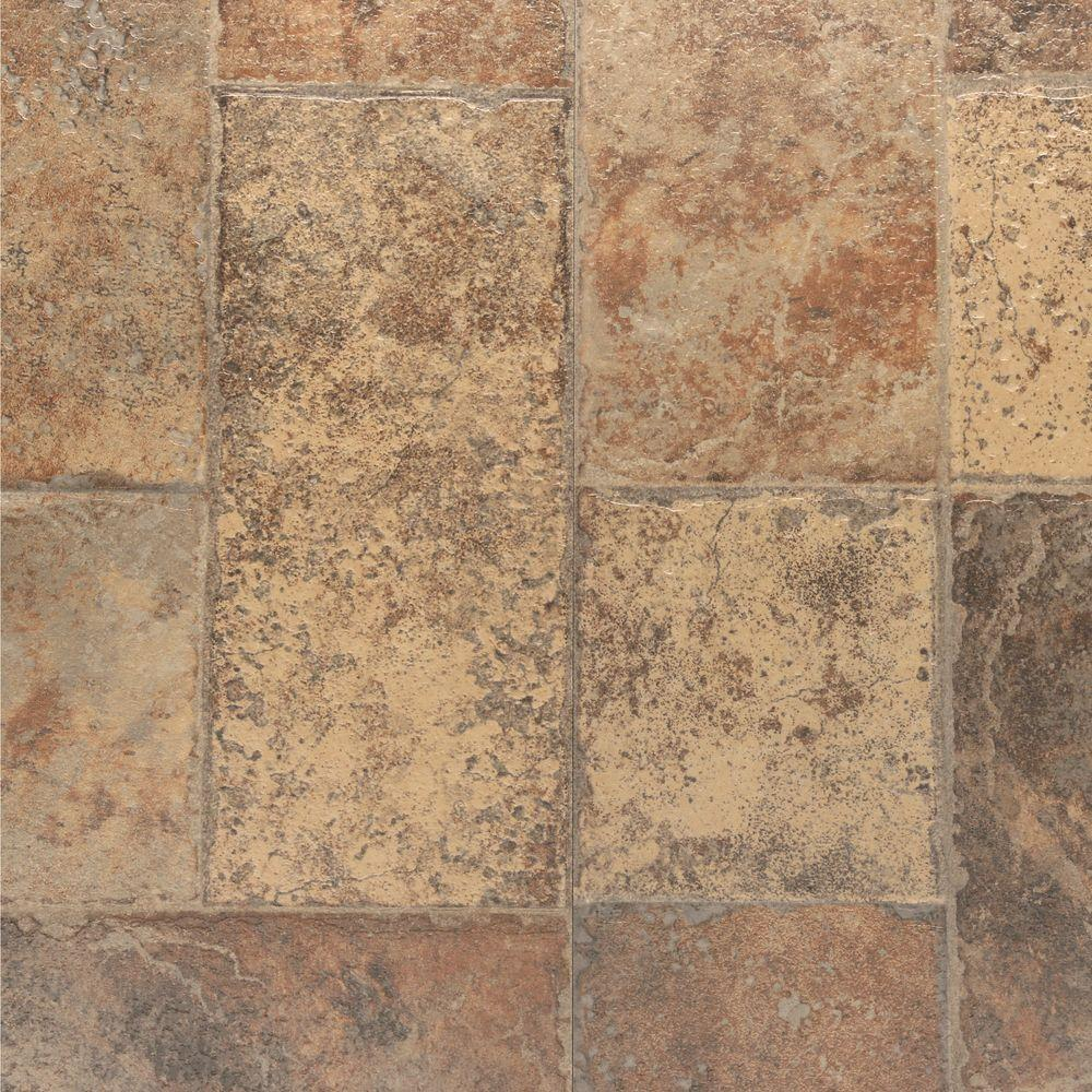 Stone Laminate Flooring : Bruce aged terracotta mm thick in wide