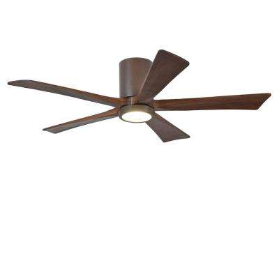 Rylie 52 in. 5-Blade Textured Bronze Ceiling Fan