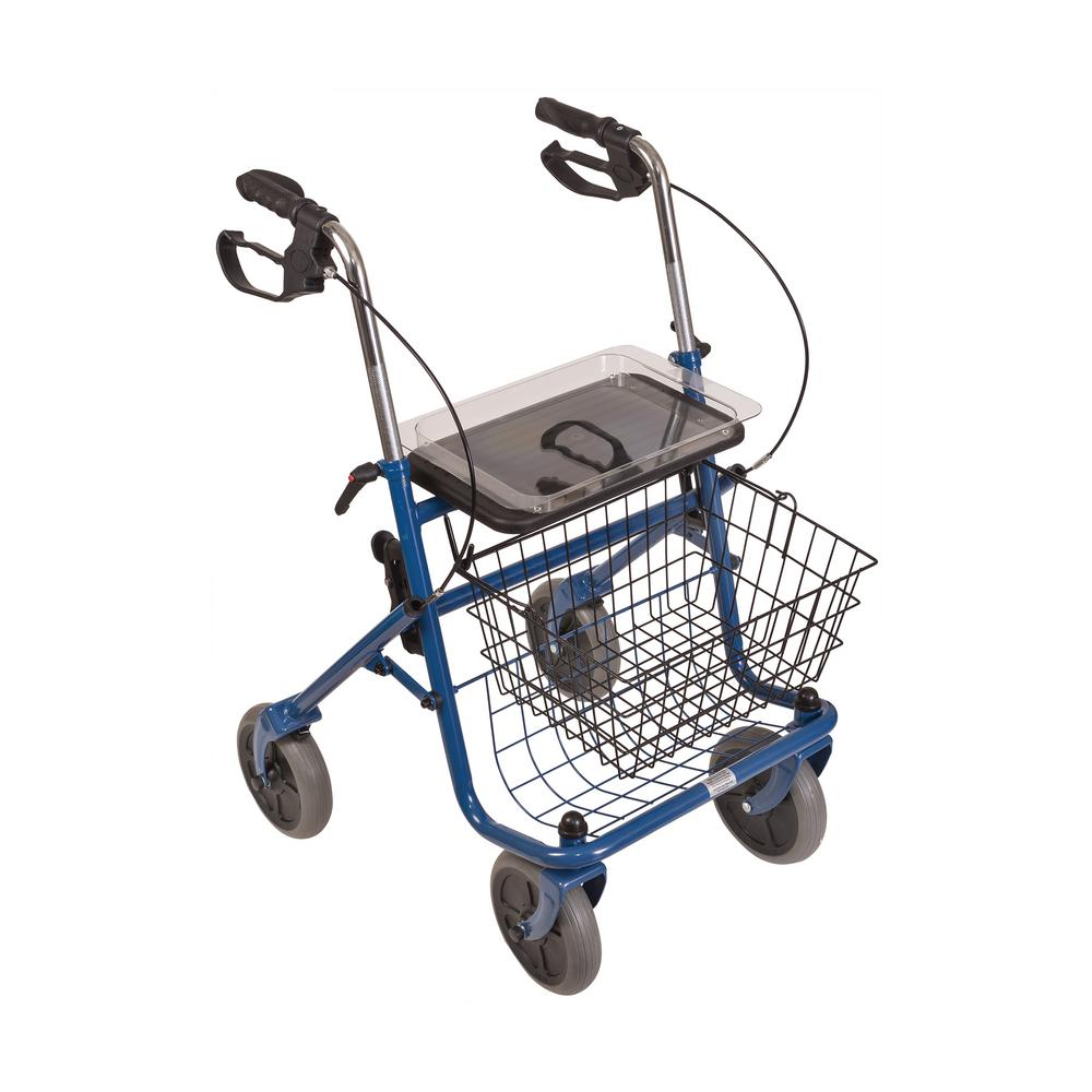 DMI Traditional Steel Rollator-501-1013-0100 - The Home Depot