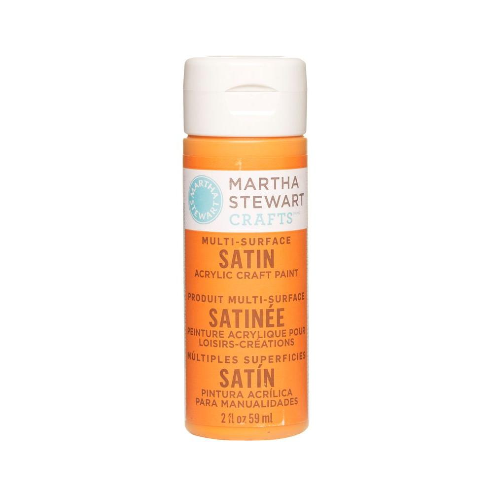 Martha Stewart Crafts 2-oz. Marmalade Multi-Surface Satin Acrylic Craft Paint