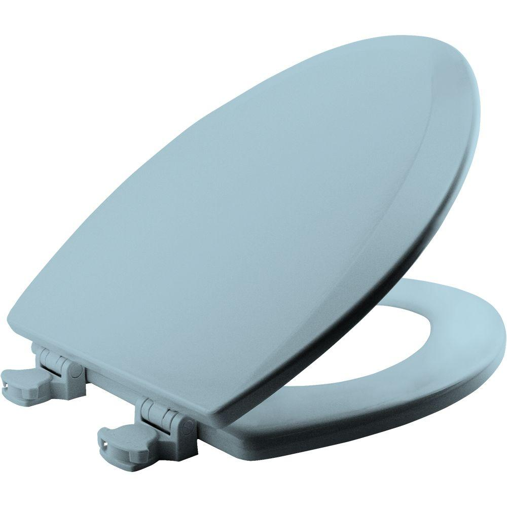 family toilet seat wood. BEMIS Lift Off Elongated Closed Front Toilet Seat in White 1500EC 000  The Home Depot