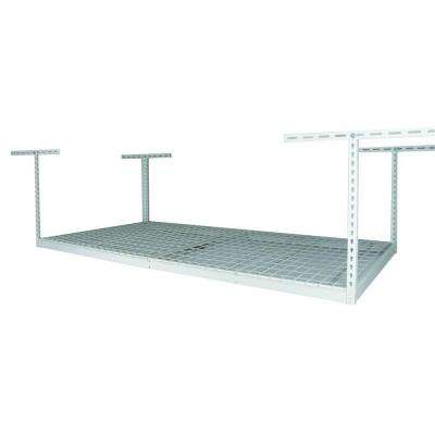 48 in. x 96 in. x 21 in. Overhead Ceiling Mount Storage Rack