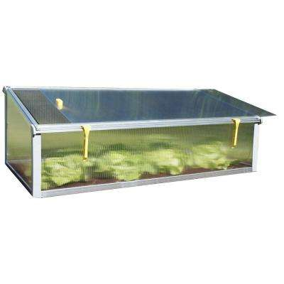 All Season 2 ft. x 4 ft. Cold Frame with Dual Purpose Screen or Polycarbonate Lid