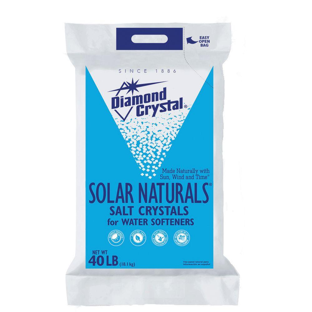 Diamond Crystal Water Softener Salt Home Depot