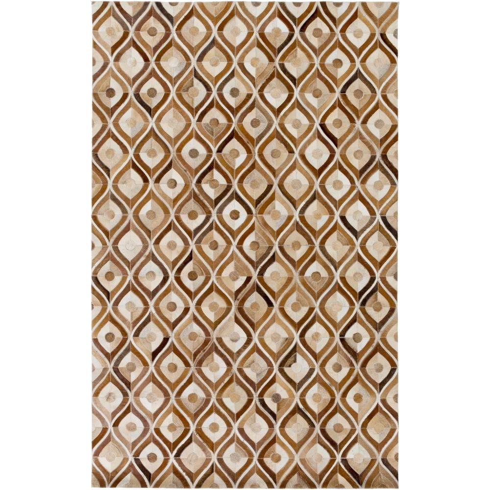 Conrad Mocha (Brown) 2 ft. x 3 ft. Indoor Area Rug