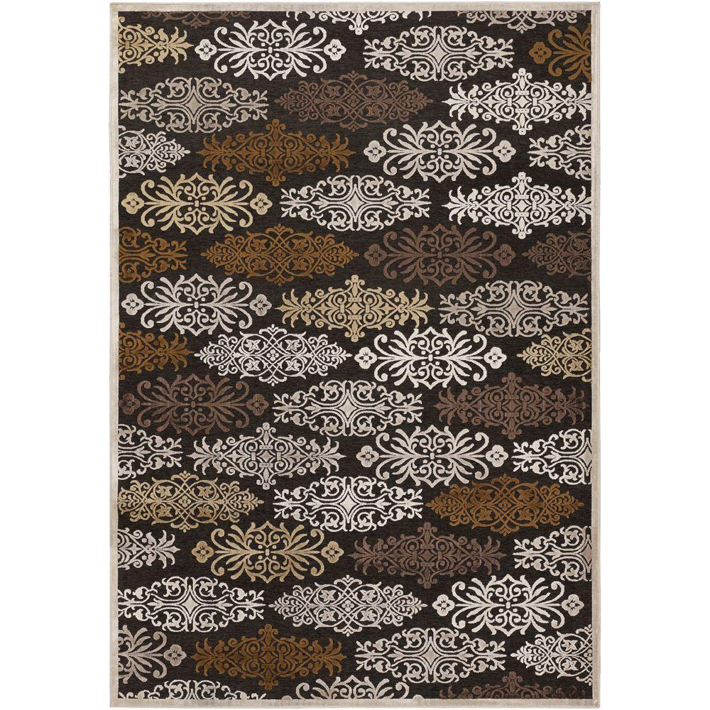 Blythe Chocolate 8 ft. 8 in. x 12 ft. Area Rug