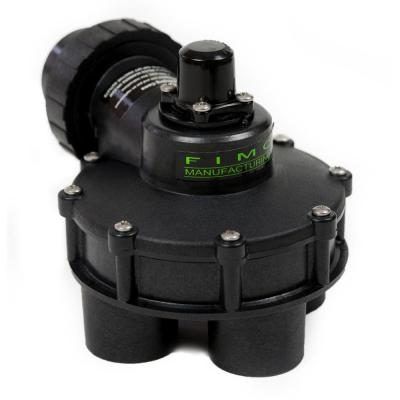 1-1/4 in. Standard 4 Outlet Indexing Valve with 2, 3 Zone Cams