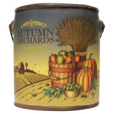Farm Fresh Ceramic Candle Autumn Orchards