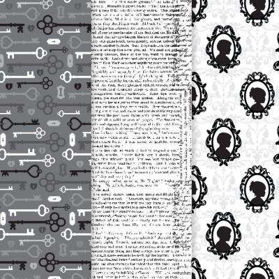 12 in. x 16 in. Decou-Page Paper Vintage Silhouette (3-Pack)