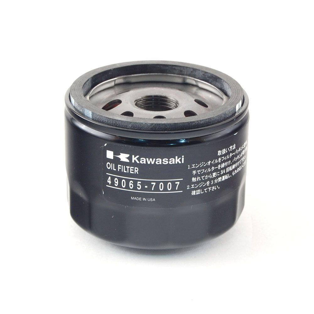 Oil Filter for Kawasaki 22 - 24 HP Engines-490-201-M007 - The Home