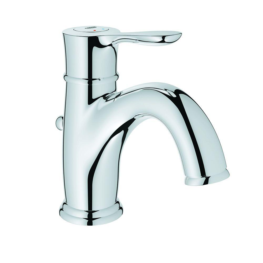 Grohe Parkfield Single Hole Single Handle Bathroom Faucet In Starlight Chrome 23305000 The