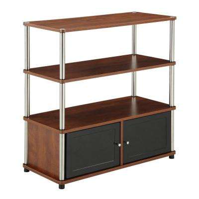 Designs2Go Cherry Storage Entertainment Center
