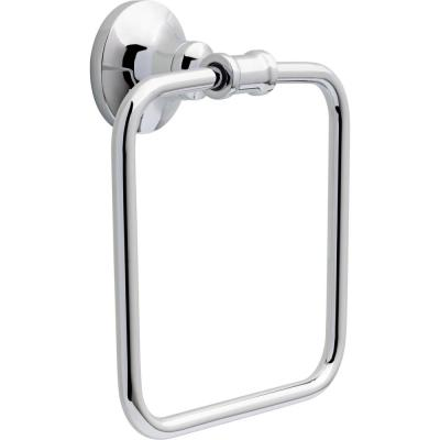 Chamberlain Towel Ring in Polished Chrome