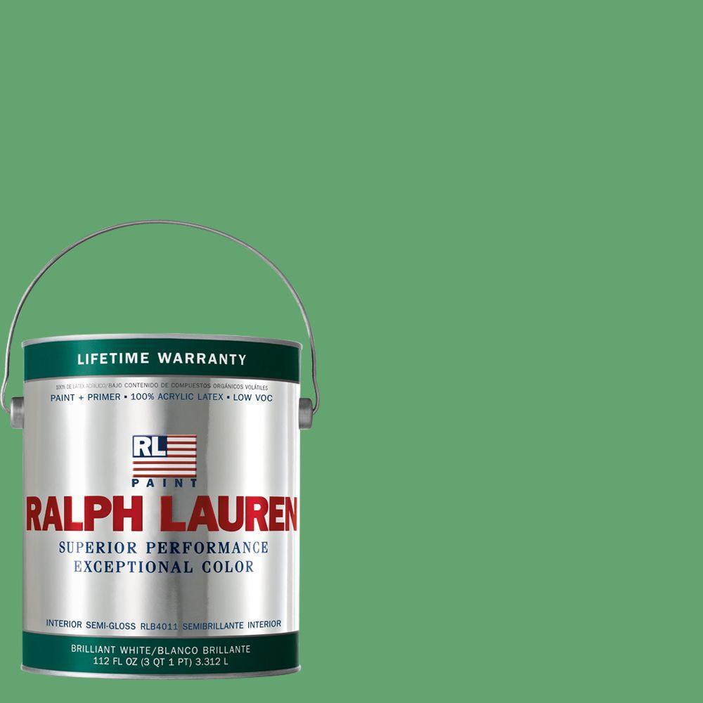 Ralph Lauren 1-gal. Jamaica Green Semi-Gloss Interior Paint