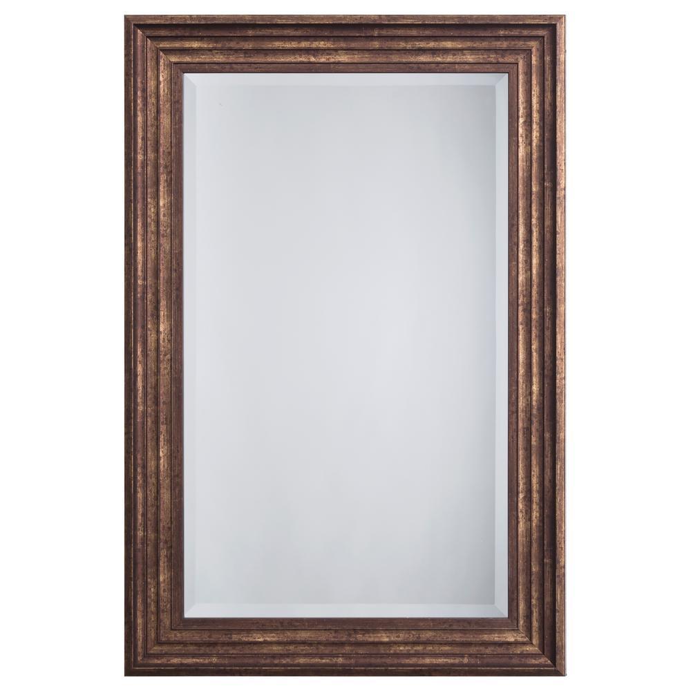 Coffee Oak Mirror Frame