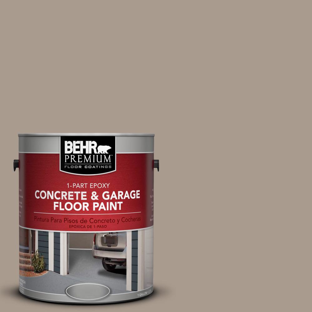 1 gal. #N210-4 Espresso Martini 1-Part Epoxy Concrete and Garage Floor Paint