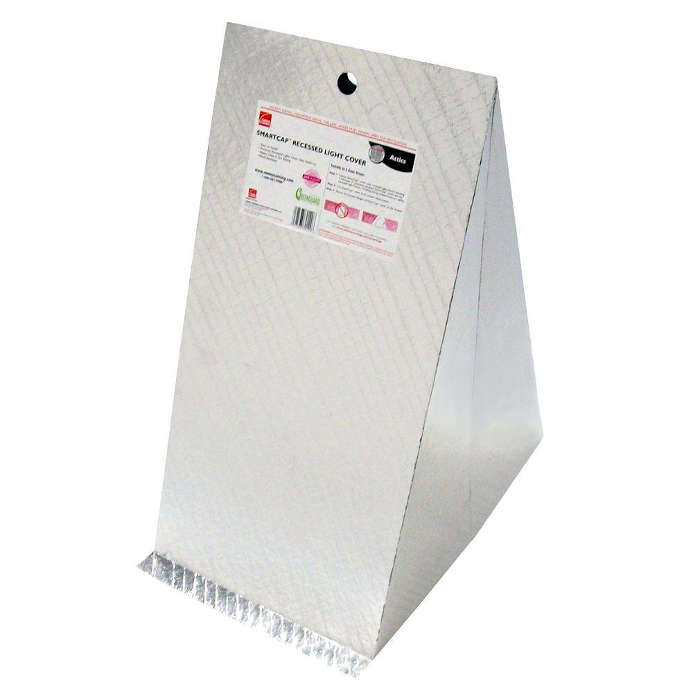 Owens Corning SmartCap Recessed Light Insulation Attic Cover (50-Piece / Carton)  sc 1 st  Home Depot & Owens Corning SmartCap Recessed Light Insulation Attic Cover (50 ...