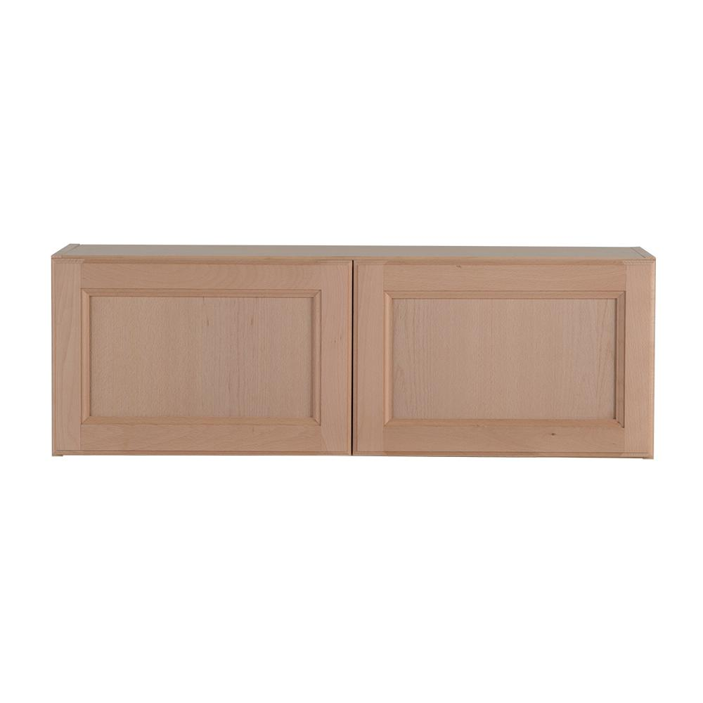 hampton bay assembled 36x12x12 in. easthaven wall cabinet