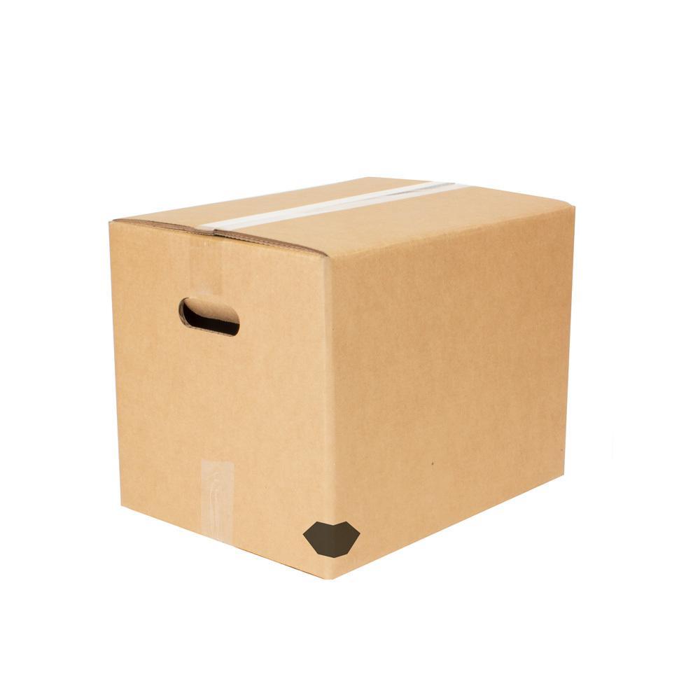 15 in. L x 12 in. W x 10 in. X-Small Heavy-Duty Moving Box with Handles