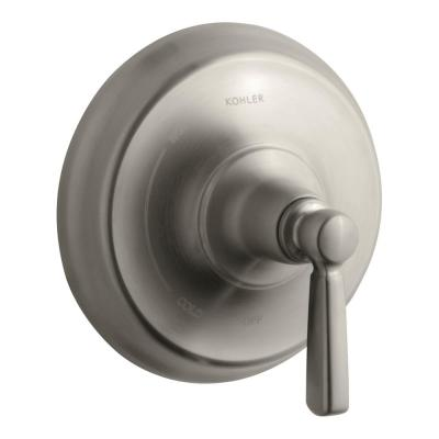 Bancroft 1-Handle Wall-Mount Tub and Shower Faucet Trim Kit in Vibrant Brushed Nickel (Valve not included)