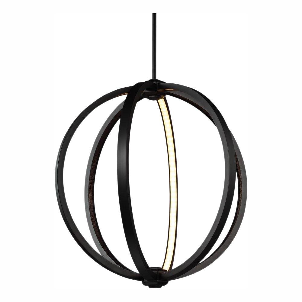 Khloe 24-Watt Oil Rubbed Bronze Integrated LED Pendant