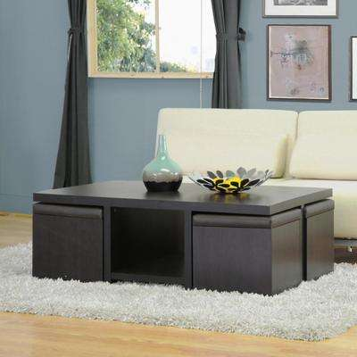 Prescott Dark Brown Coffee Table