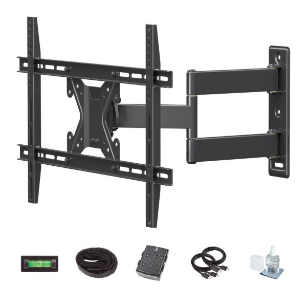 Full Motion TV Wall Mount Kit for 26 in. - 70 in. TVs