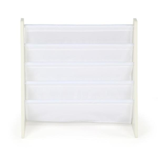 Cambridge White Kids Book Rack Storage Bookshelf