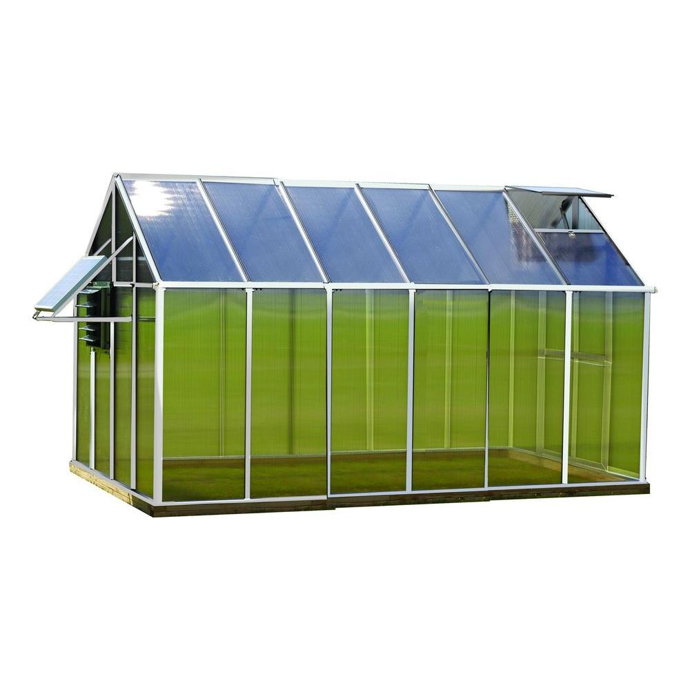 8 ft. x 12 ft. Aluminum Mojave Greenhouse