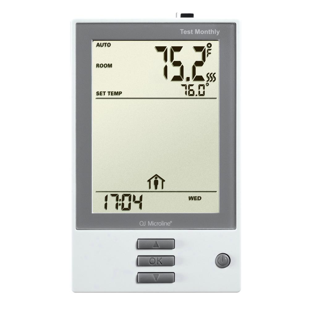 Warmlyyours Nhance Programmable Thermostat With Floor