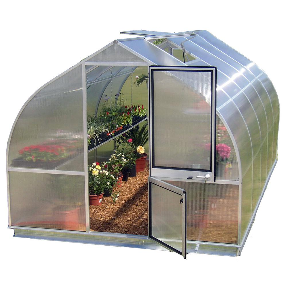Exaco Riga 9 ft. 8 in. x 17 ft. 2 in. German Hobby Greenhouse