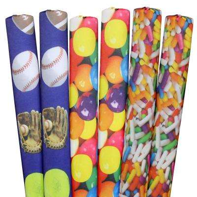 Sprinkles, Sports, Gumballs Pool Noodles (6-Pack)