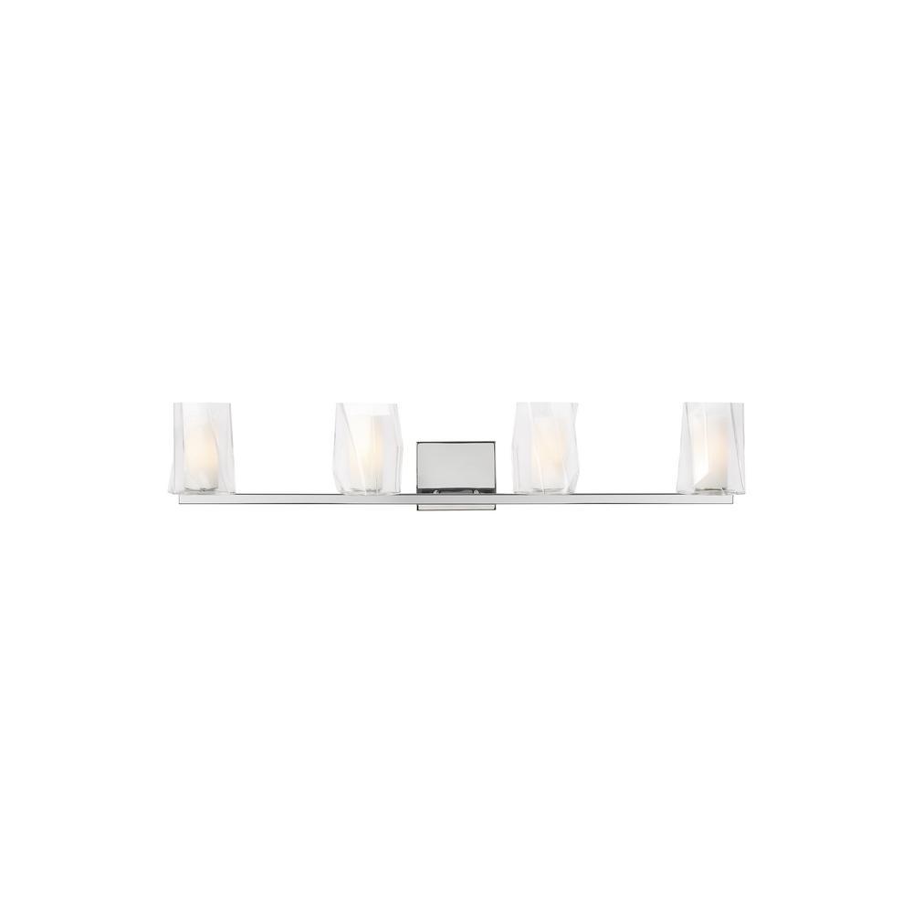 avant lighting. LBL Lighting Avant 4-Light Satin Nickel Bath Light N
