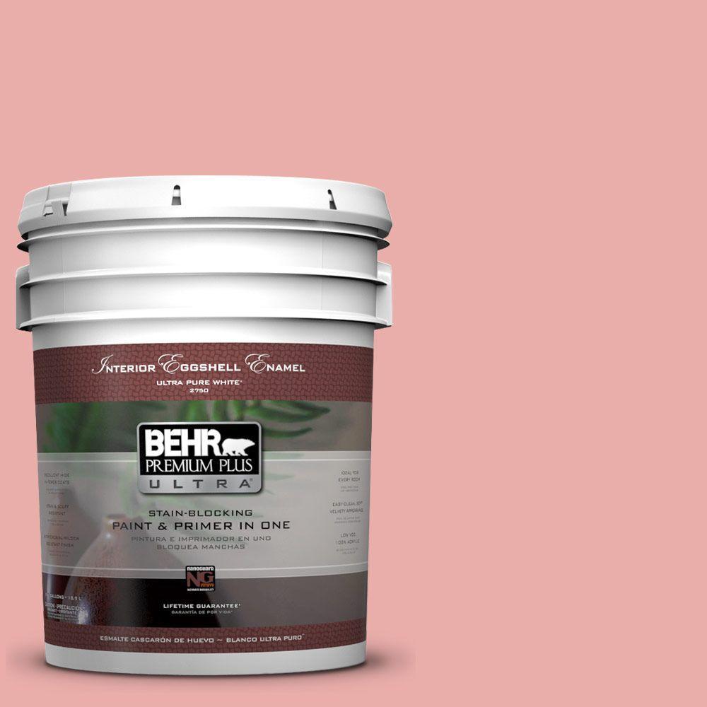 BEHR Premium Plus Ultra 5-gal. #M160-3 Sweet Tart Eggshell Enamel Interior Paint