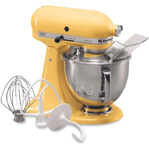 Delightful Internet #100497595. KitchenAid Artisan 5 Qt. Majestic Yellow Stand Mixer