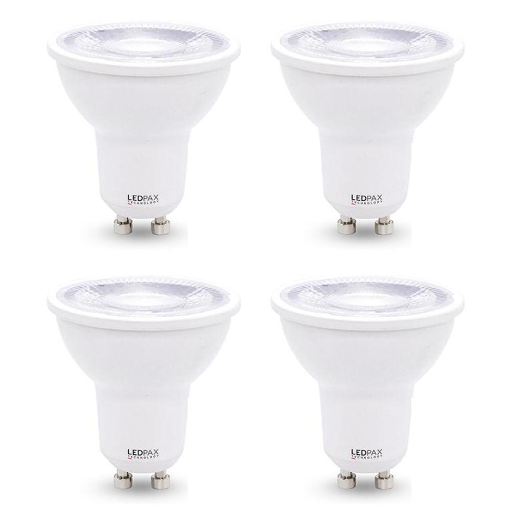 50-Watt Equivalent GU10 Dimmable LED Light Bulb (4-Pack)