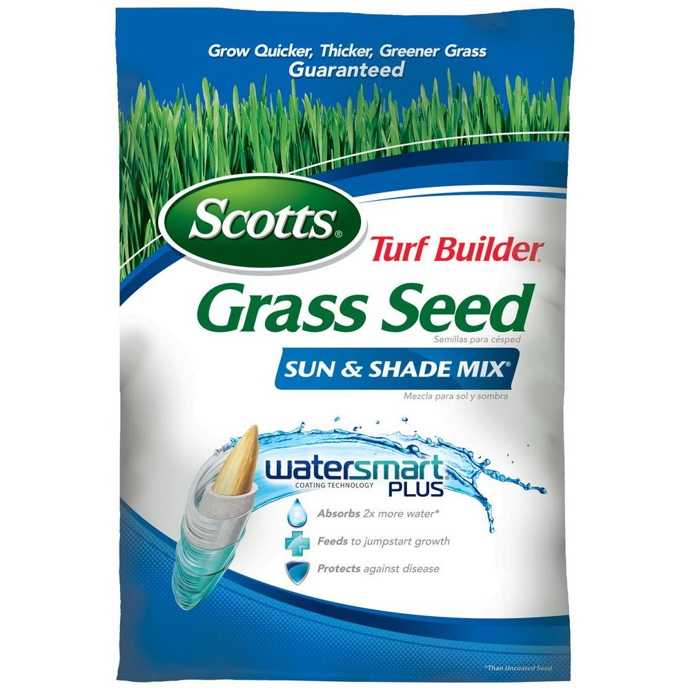 Scotts 20 lb. Turf Builder Grass Seed Sun and Shade Mix