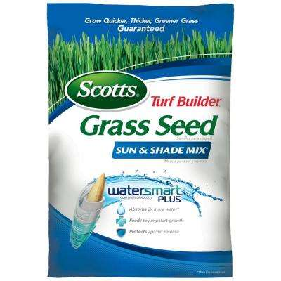 Turf Builder Grass Seed Sun and Shade Mix 20 lb.