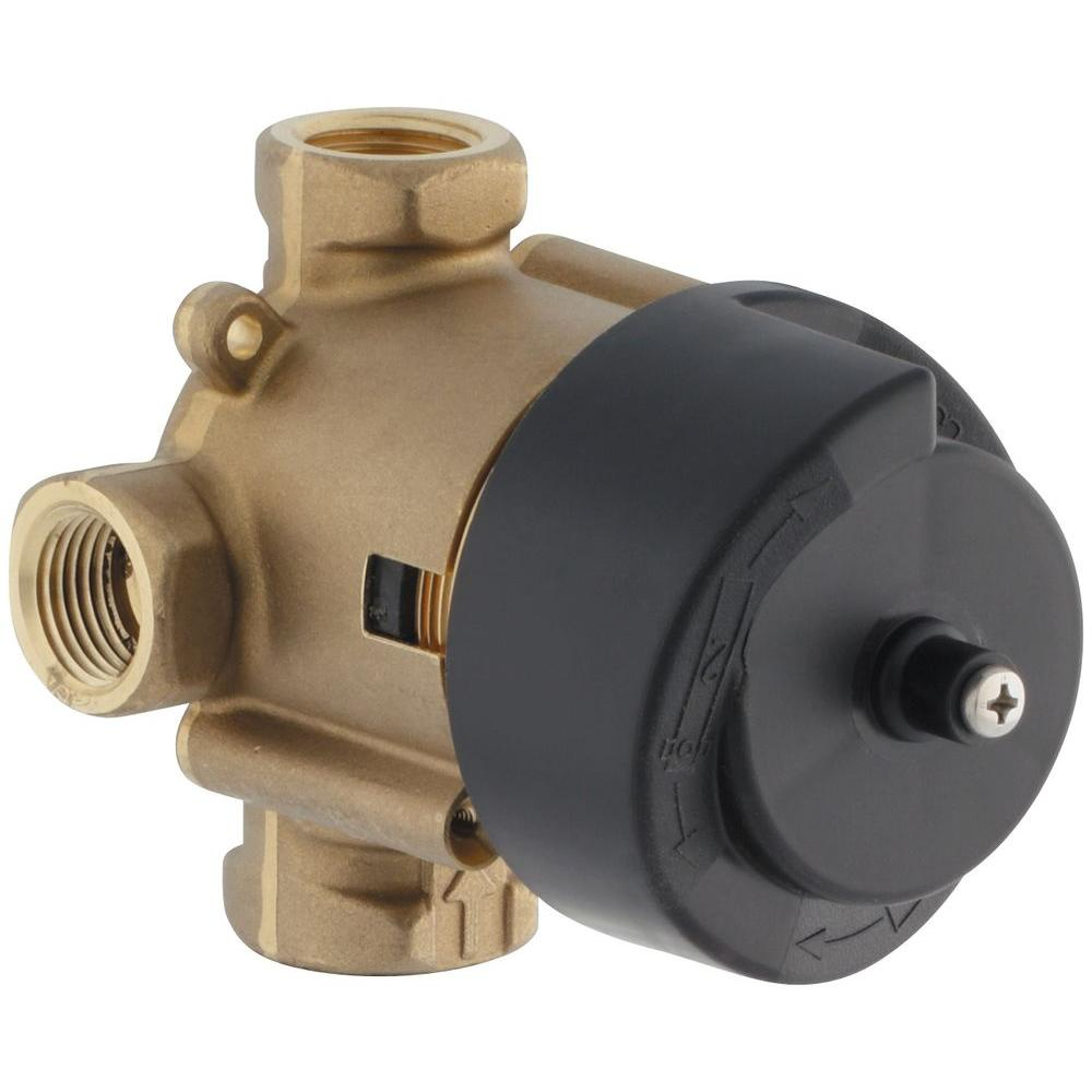 Master Shower 2 or 3-Way Diverter Valve