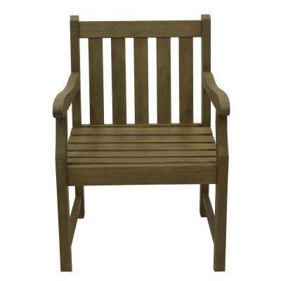 Henley White Wood Outdoor Dining Chair