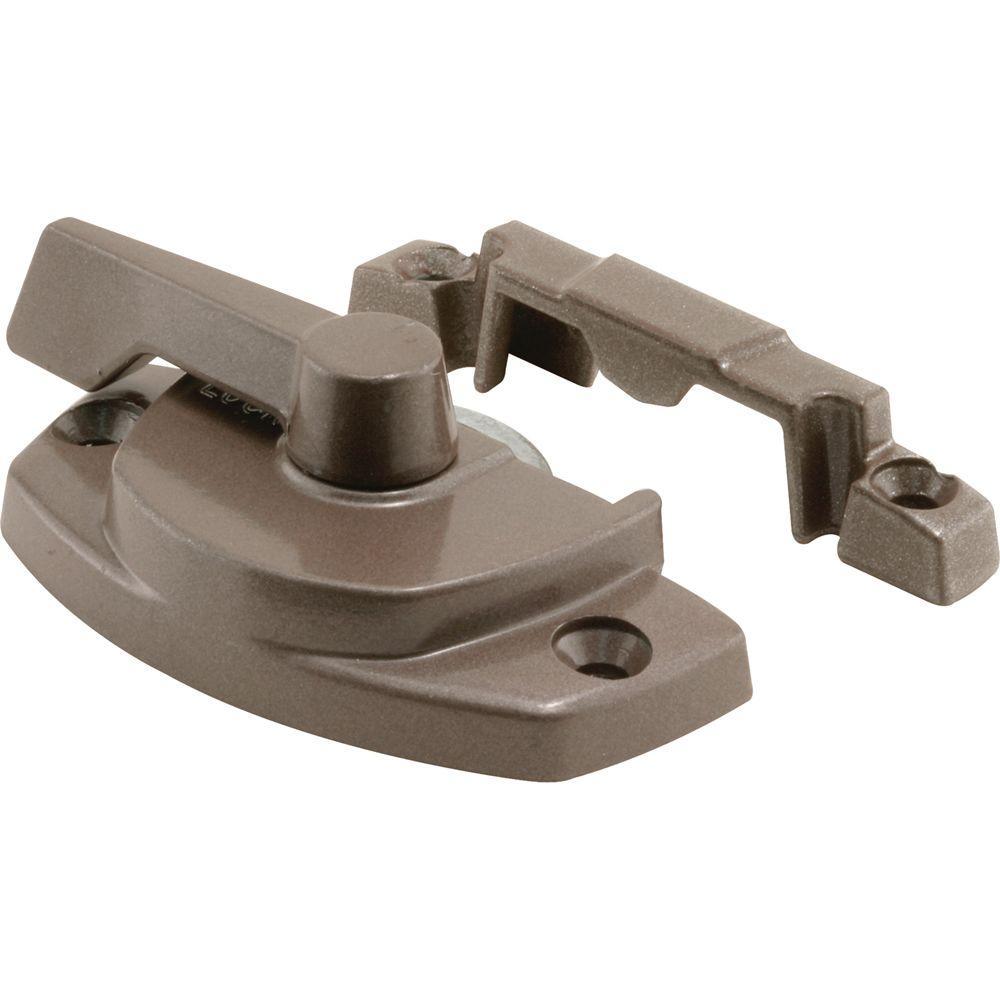 Entrygard Cam Lock with Bronze Painted Lug Type Keeper