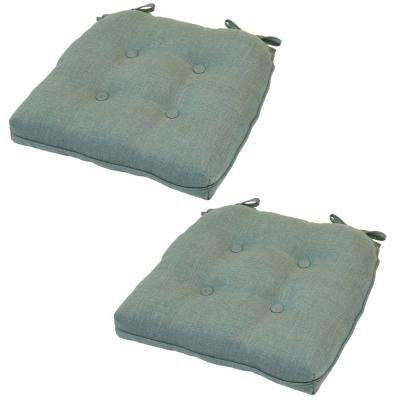 20.5 x 20 Outdoor Chair Cushion in Standard Spa (2-Pack)