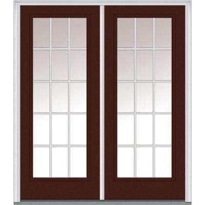 72 in x 80 in grilles between glass right hand full lite classic - Exterior Double Doors