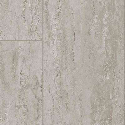 Kinley Grey Marble 13.2 ft. Wide x Your Choice Length Residential Sheet Vinyl Flooring