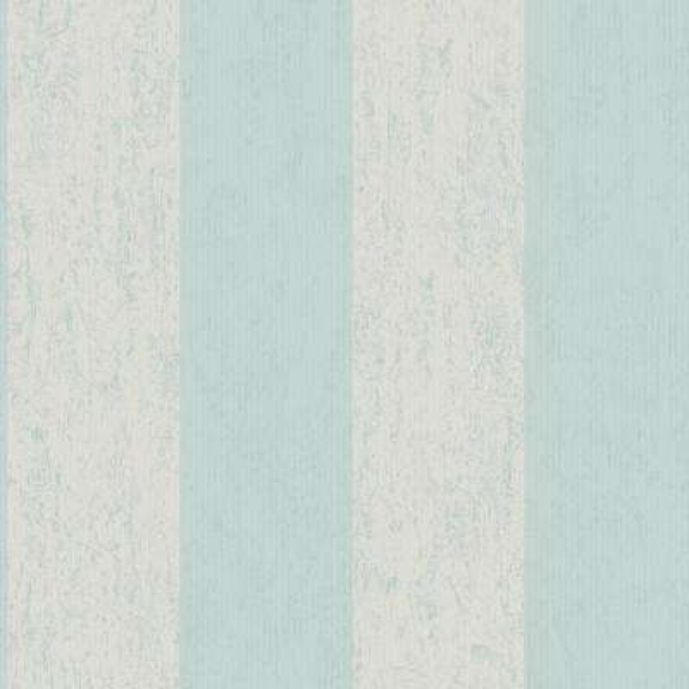 Mercury Stripe Duck Egg Wallpaper Sample