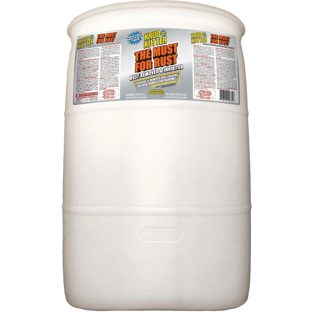 Krud Kutter 55 gal. The Must for Rust
