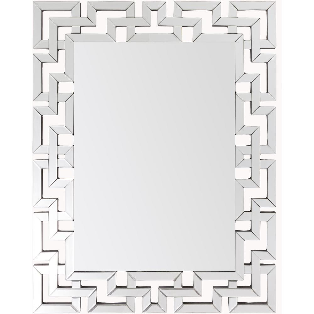 Artistic Weavers Risley 45 in. x 35.5 in. Modern Framed Mirror ...